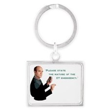 Star Trek Voyager The Doctor IT Landscape Keychain