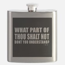 thou shall not  Flask
