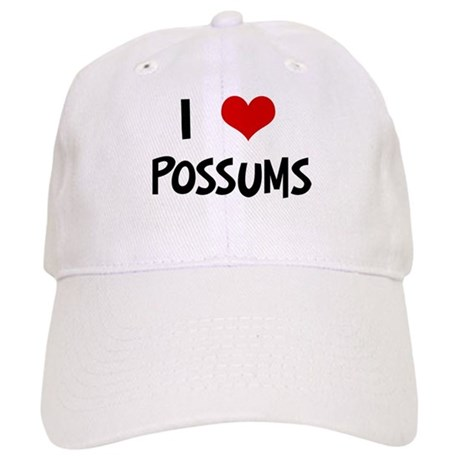 I Love Possums Cap