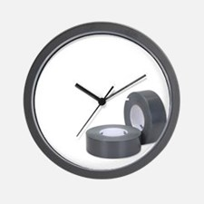 Duct Tape since 1942 for dark Wall Clock