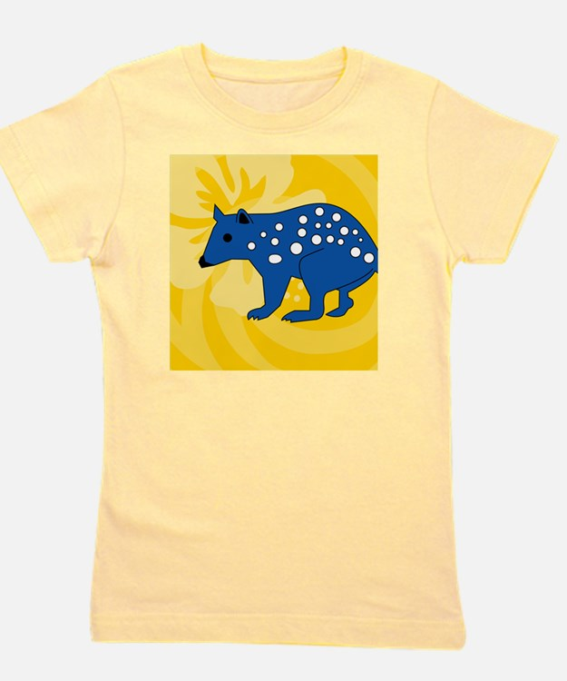 Quolls Sticky Notepad Girl's Tee