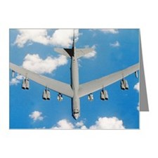 Boeing B52H Stratofortress p Note Cards (Pk of 20)