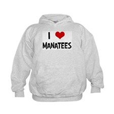 I Love Manatees Hoodie