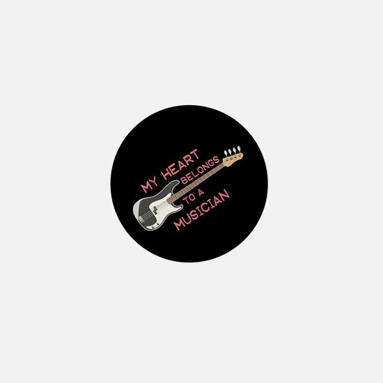 Musician Lover Mini Button
