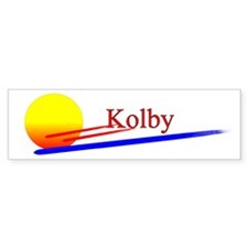 Kolby Bumper Bumper Sticker