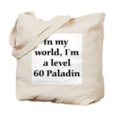Level 60 Paladin Tote Bag