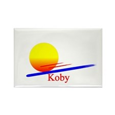 Koby Rectangle Magnet