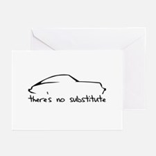 Porsche 911 Black Greeting Cards (Pk of 10)