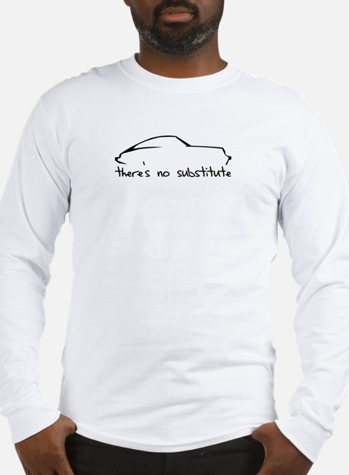 Porsche 911 Black Long Sleeve T-Shirt
