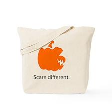 scare different 2 Tote Bag