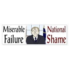 Miserable Failure, National Shame (sticker)