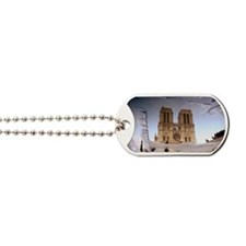 Paris, Cathedrale Notre Dame Dog Tags