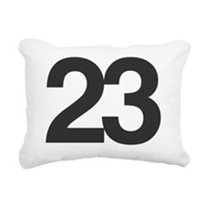 23 Rectangular Canvas Pillow