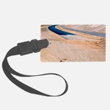 Road construction Luggage Tag