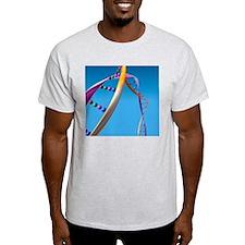DNA molecule, computer artwork T-Shirt