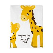 Mother and child Giraffe Twin Duvet