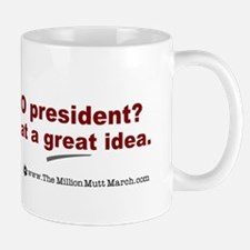Romney with Bush- CEO President Mug