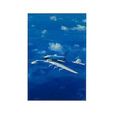 Russian shuttle Buran Rectangle Magnet