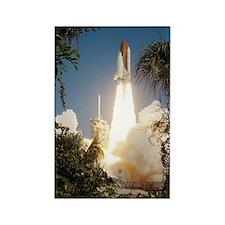 Return to Flight shuttle launch Rectangle Magnet