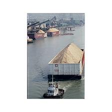 River cargo Rectangle Magnet