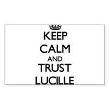Keep Calm and trust Lucille Decal