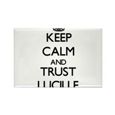 Keep Calm and trust Lucille Magnets