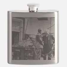 E. Rutherford in the Cavendish Laboratory Flask