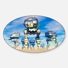 Robot army Decal