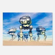 Robot army Postcards (Package of 8)