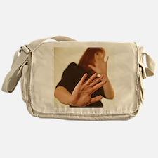Domestic violence Messenger Bag