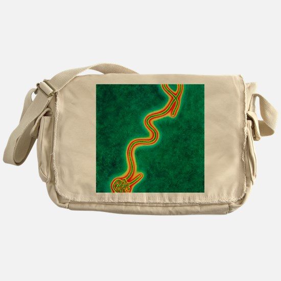 Ebola virus Messenger Bag