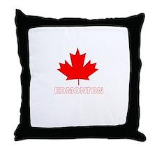 Cute Edmonton Throw Pillow
