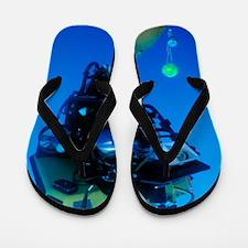 Robot submarine Flip Flops