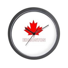 Funny Canada flag Wall Clock