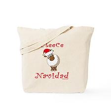 FleeceNavidadLightFinalTRANS-c Tote Bag