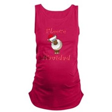 FleeceNavidadLightFinalTRANS-c Maternity Tank Top