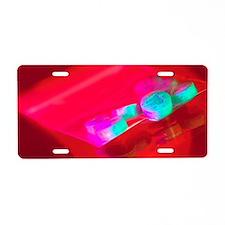 Ecstasy pills Aluminum License Plate