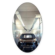 Robotic car production line Decal