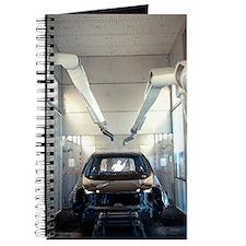 Robotic car production line Journal