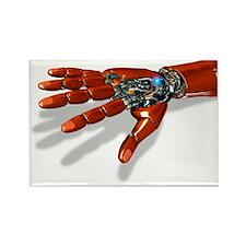 Robotic hand Rectangle Magnet