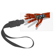 Robotic hand Luggage Tag