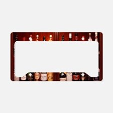 Drinks cabinet License Plate Holder