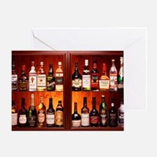 Drinks cabinet Greeting Card