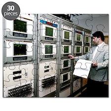 Satellite control room Puzzle
