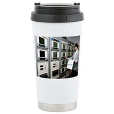 Satellite control room Travel Mug