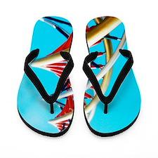 DNA sculpture Flip Flops