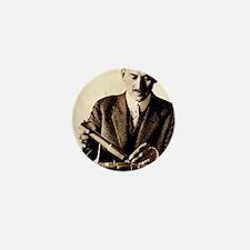 Rocket pioneer, Robert H. Goddard Mini Button