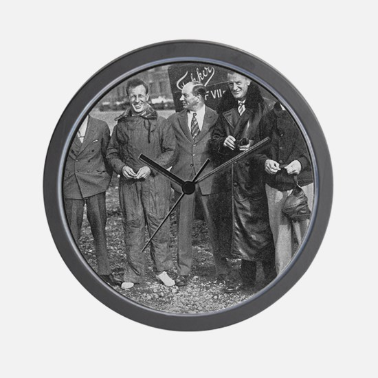 East-to-West flight crew and designer Wall Clock