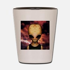 Roswell alien Shot Glass