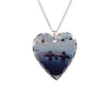 Scuba diver in ice Necklace